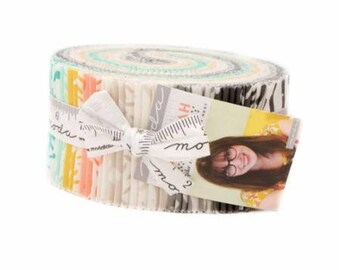 Savannah - Jelly Roll by Gingiber for Moda