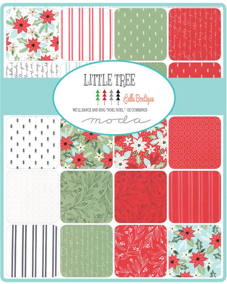 by Lella Boutique for Moda Jelly Roll Little Tree