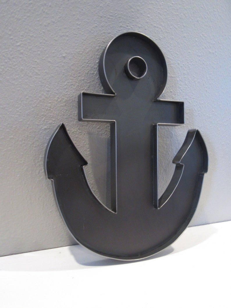 Metal Anchor-Custom Wall Anchor-Anchor Beach Decor-Nautical Beach  Decor-Kids Pirate Room Decor-15