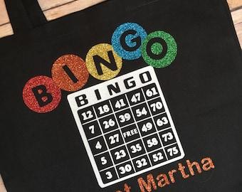 Personalize bingo bag