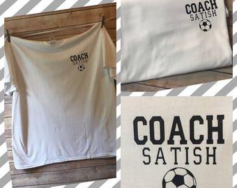 PERSONALIZED Coach T shirt U Pick Sport