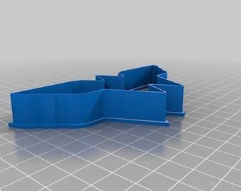 Wonder Woman Cookie Cutter|3D Printed Cookie Cutter