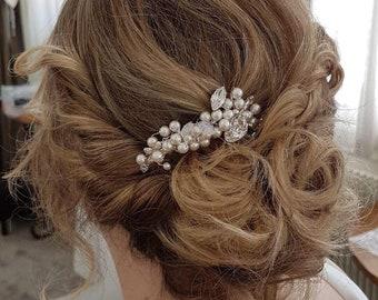 Wedding hair comb Pearl Aude