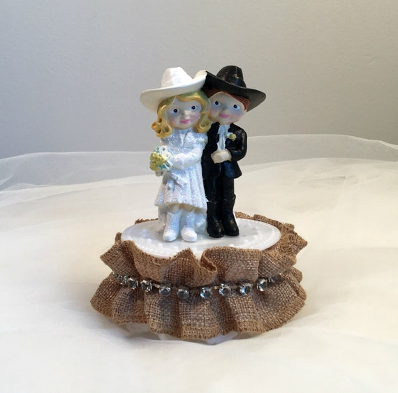 492b975c906 Wedding Cake Topper Rustic Cake Topper Bride and Groom