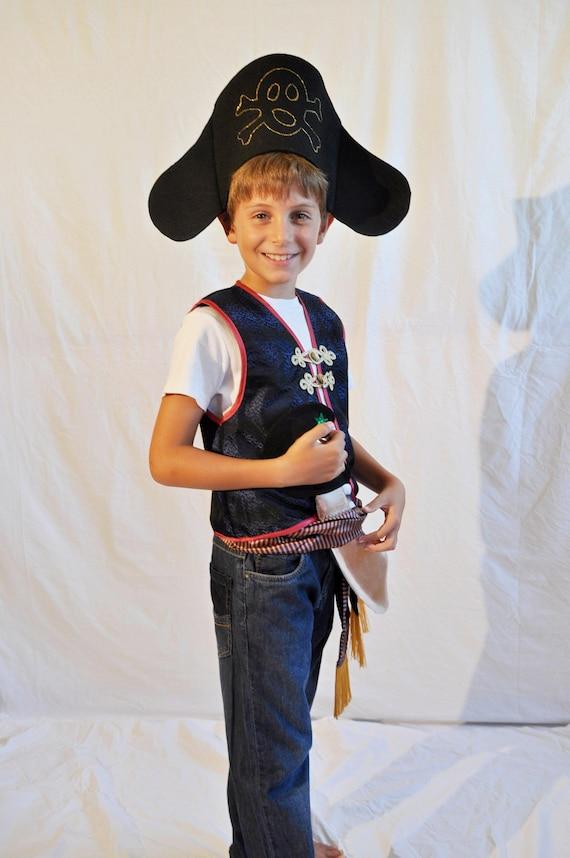 Bambino Pirata Costume Libro Bambini Festa Di Halloween Per Bambini Costume Nuovo