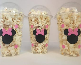 Minnie Mouse Party Favor Bags Favors Cups Birthday