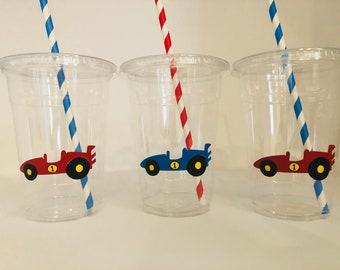 Race Car Party Cups