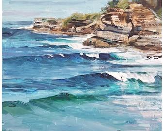 "ORIGINAL ARTWORK ""Northern Beaches."""