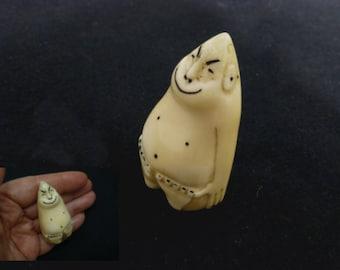 Inuit Bone Carving Etsy