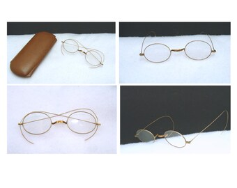 a0c31b723a0 Antique benjamin franklin eyeglasses - old spectacles glasses