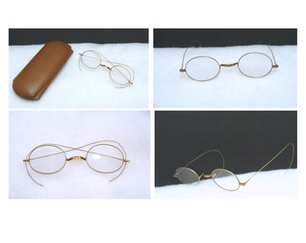 aea013db818 Antique benjamin franklin eyeglasses - old spectacles glasses