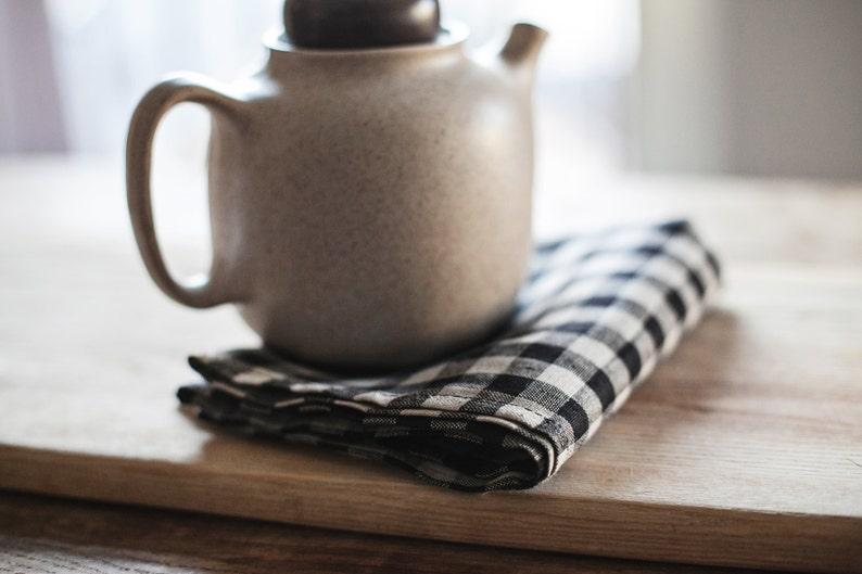 Linen Kitchen Towel    Hand Towel   Kitchen Towel  Rustic