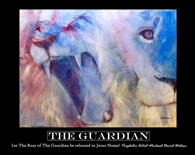 The Guardian Painting  Framed Print image 0