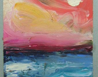 Dream Ocean #2 original oil painting