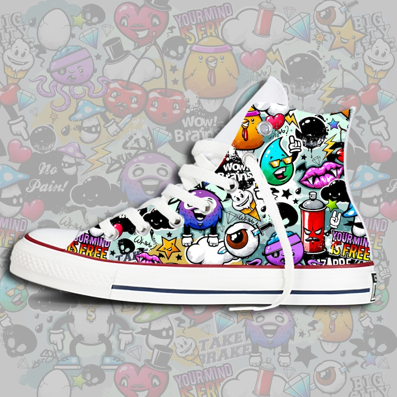 d2023fc4ec14 Graffiti Custom Chucks