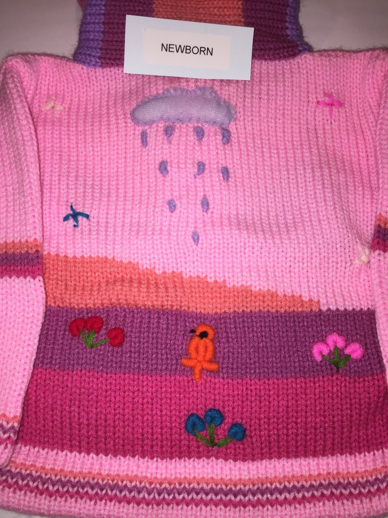 Pink sweater Kids Sweater Zip Hoodie Toddler Sweater Kids Clothing Knit Sweater Kids Cardigan Kids Clothes Handmade Sweater Hipster