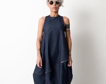 Denim tunic dress | Etsy