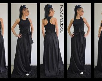 Maxi Skirt, High Waisted Skirt, Long Skirt, Plus Size Maxi Skirt,  A Line skirt, Pleated skirt, Plaid skirt, Boho skirt, Black skirt