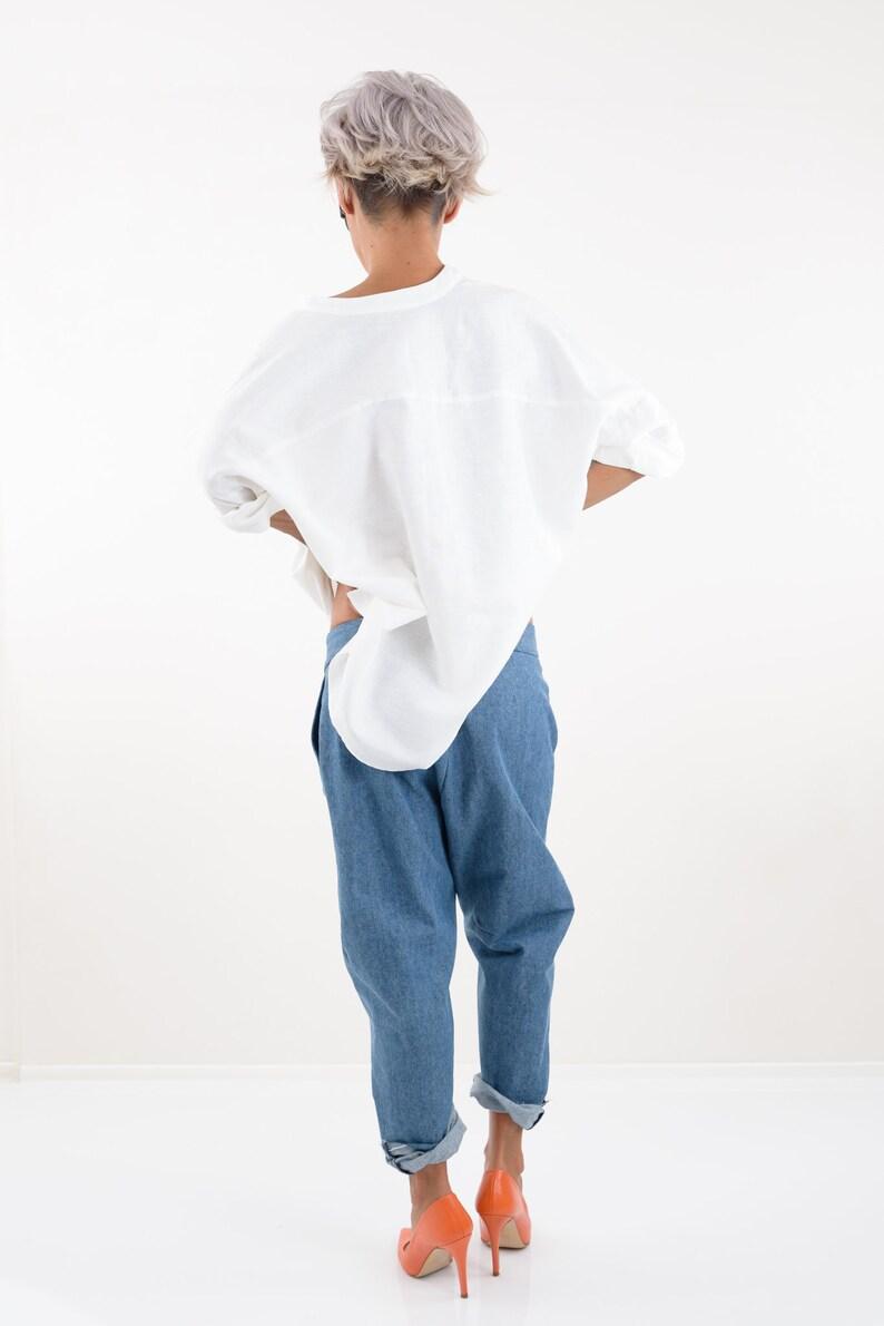Linen Top Clothing Women Linen Blouse Linen Clothing Linen Shirt Linen Womens Clothing Linen Tunic Linen Shirt Women