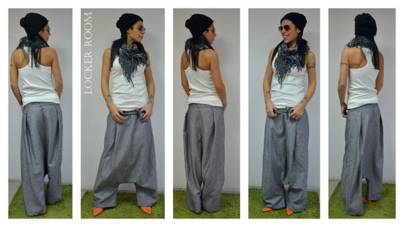 Waisted High Pants Clothing Linen Linen Linen Palazzo Pants Womens Pants Pants Harem Summer Women Harem Clothing Pants Pants vTIPqvr