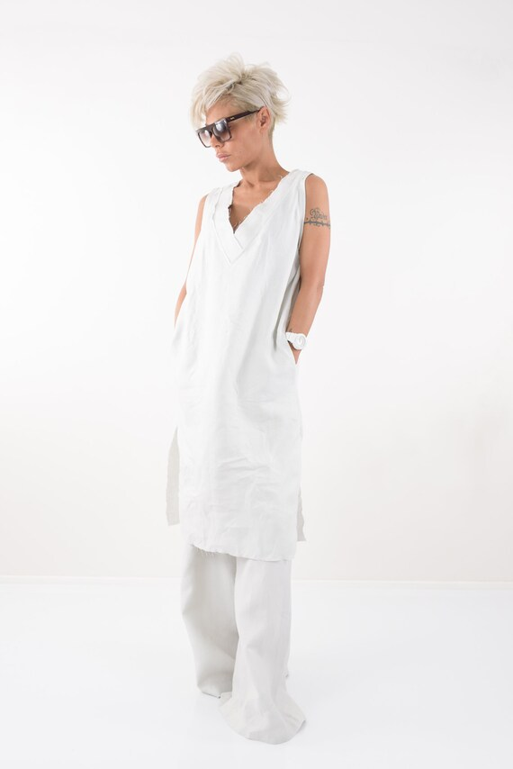 Beach Dress Dress Summer Shirt Kaftan Linen Plus Dress Linen Dress size Linen Tunic Dress Clothing Linen Blouse Linen Top Linen vqUfwaTxE