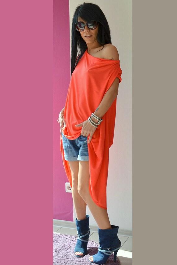 Top Tunic Back Size Open Summer Cold Plus Tunic Shirt Cotton T Dress Shirt Shirt Shoulder Shirt Dress Top Tunic OwffxXR