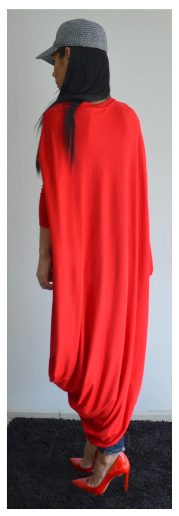 Dress Dress Size Dress Dress Maxi Clothing Tunic dress Plus Dress Dress Plus Maternity Dress Size Boho Maxi Red Kaftan Long dress xxwS4q1HCF