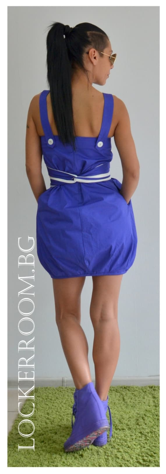 Dress Party Summer Blue Cotton dress Mini Dress Dress Dress Dress Sleeveless Dress Bridesmaid nqx5nAY4Sw