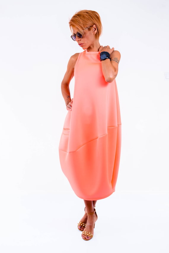 Dress Loose Daywear Extravagant Asymmetric Tunic size LOCKERROOM Evening Oversize Kaftan Kaftan Maxi Midi by Loose Plus made wqXKg8cz