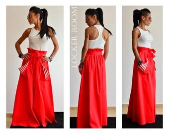Maxi skirt, Plus size Maxi Skirt, Long Skirt, A Line skirt, High Waisted Skirt, Plated Skirt, Skirt With Pockets, Gypsy Skirt, Boho Skirt