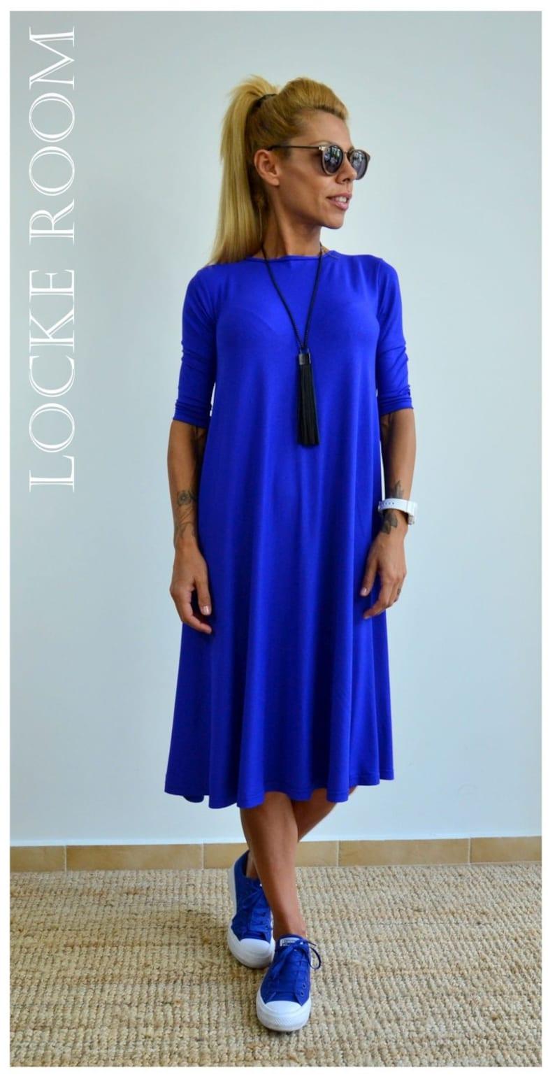 11186d716cd Plus Size Dress Summer Dress Maternity Dress Midi Dress