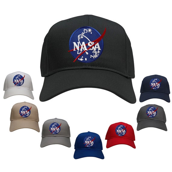 bcf30fc2ebefc NASA Space Insignia Embroidered Iron On Logo Patch Snapback