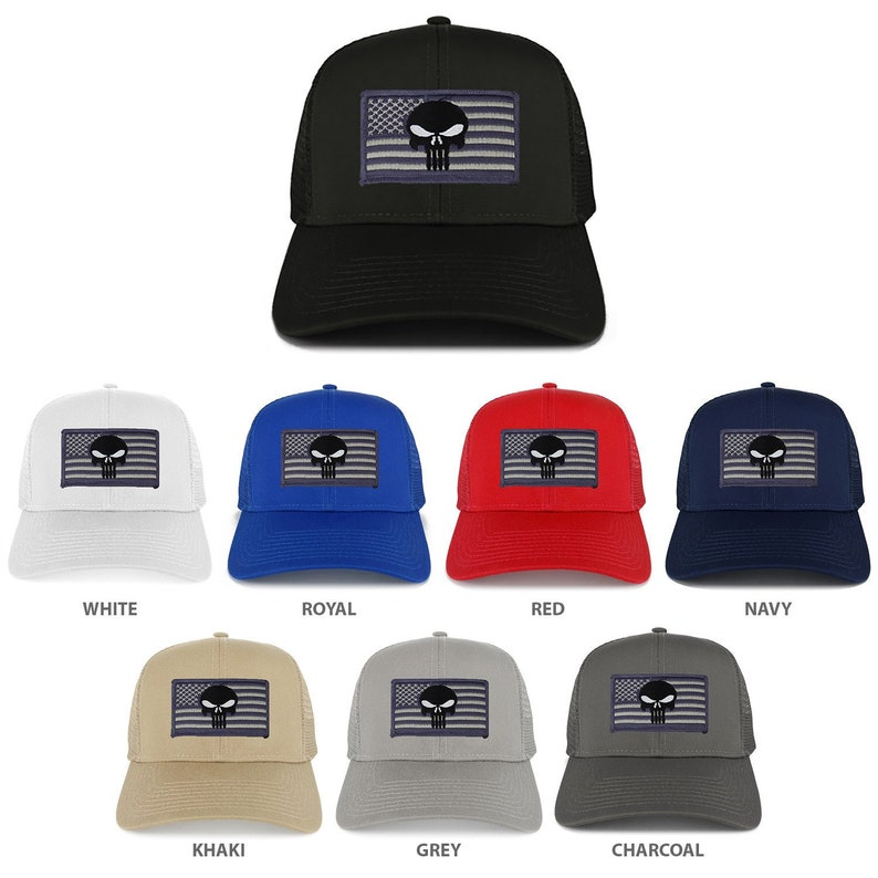 Homeland Tees Mens Georgia Flag Patch Army Camo Trucker Hat
