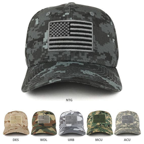 TACTICAL OPERATOR USA FLAG DESERT TAN EMBROIDERED 100/% COTTON MILITARY HAT CAP