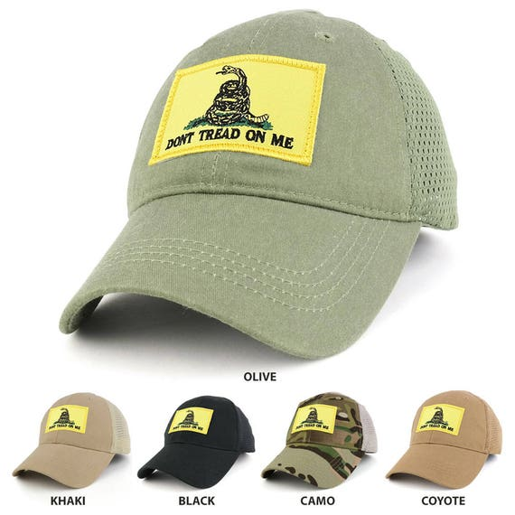 Dont Tread on Me Yellow Gadsden Snake Embroidered Tactical  e00e06816c25