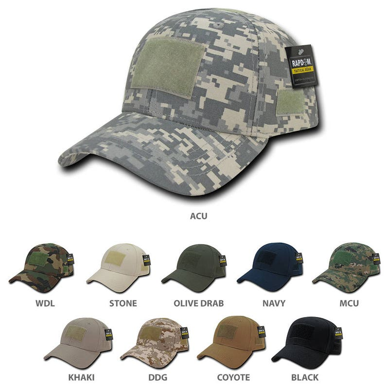 Firm Low Profile Tactical Operator Cap with Loop Patch T78  082a3727f6db
