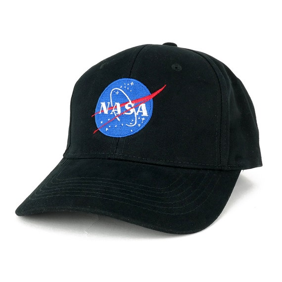 NASA Space Meatball Embroidered Iron On Logo Patch Snapback Cap
