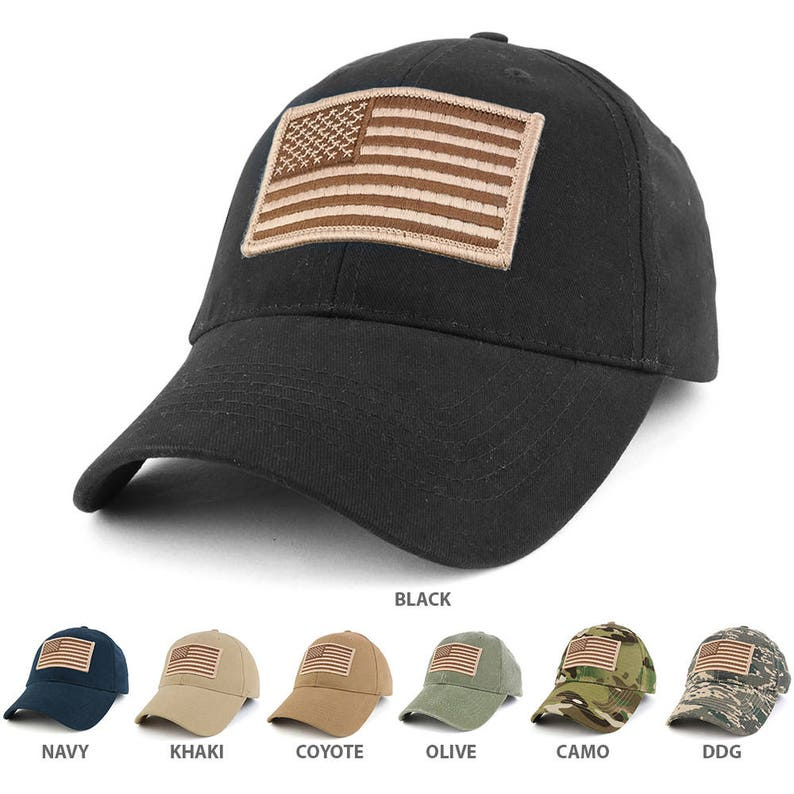 USA American Flag Embroidered Desert Tactical Patch with  64cd9edc7f8