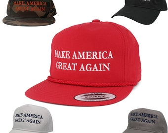 Donald Trump Make America Great Again Hat - Quality Embroidered Cap