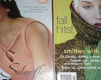 Vogue Knitting International Magazines  Spring Summer 2004 Or Fall 2008 You Choose The Issue