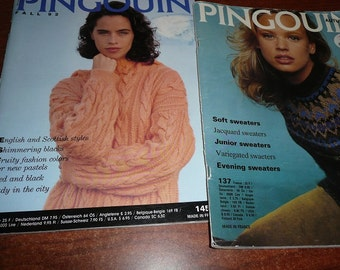 Pingouin Magazines Autum 1991 Or Fall 1992 You Choose The Issue