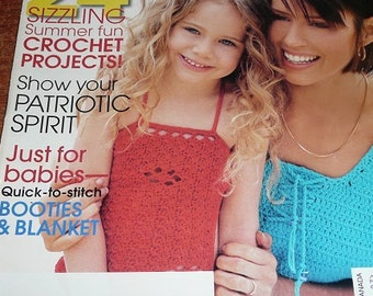 Crochet Magazine July 2003