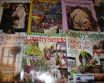 Country Sampler Magazines You Choose The Issues