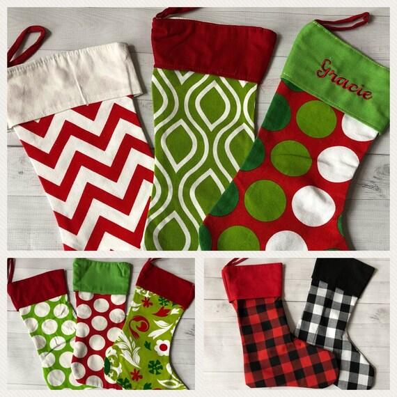 Embroidered Christmas Stockings.Christmas Stockings Embroidered Christmas Stocking Personalized Stocking Monogrammed Stocking Family Christmas Stockings