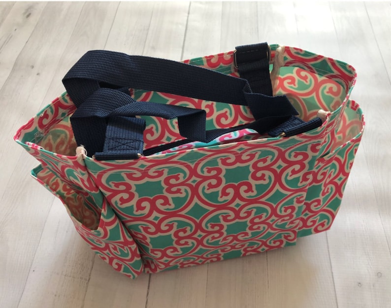 34935be8171 Utility Tote Bag, Utility Tote, Small Utility Tote, Monogram Utility Tote,  Craft Tote, Personalized Utility Bag, Monogrammed Tote