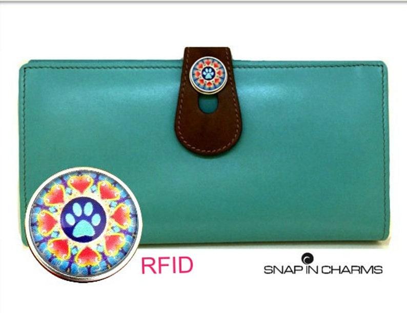 ad121d7c6cb70 Turkusowy portfel damski prezent dla kobiet iPhone 6 portfel | Etsy