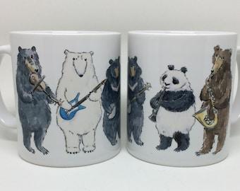Musical Bears Mug