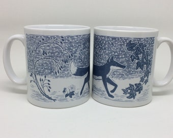 Winter Fox Mug