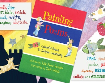 Painting Poems - Colourful Poems to Inspire Creativity - Children's Poetry Book
