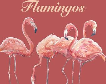 Flamingos Clip Art